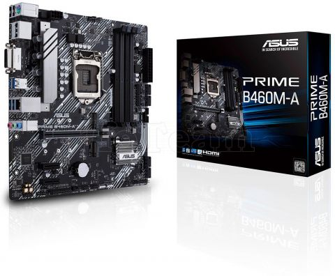 Photo de Carte Mère Asus Prime B460M-A (Intel LGA 1200) Micro ATX