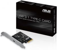 Photo de Carte PCI ASUS USB 3.1 Type C - 1 port externe