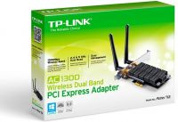 Photo de Carte réseau PCI-Express TP-Link Archer T6E Wi-Fi (AC1300)