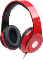 Photo de Casque Micro Gembird Detroit MHS-DTW-R (Rouge)