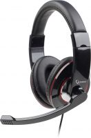 Photo de Casque Micro Gembird MHS-001 (Noir)