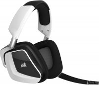 Photo de Casque Micro Sans Fil Corsair Void Elite RGB 7.1 (Noir/Blanc)