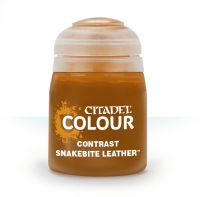 Photo de Citadel Pot de Peinture - Contrast Snakebite Leather (18ml)