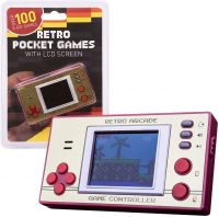 Photo de Console Retro Gaming ORB Gaming Retro Pocket Games (Rouge/Beige)
