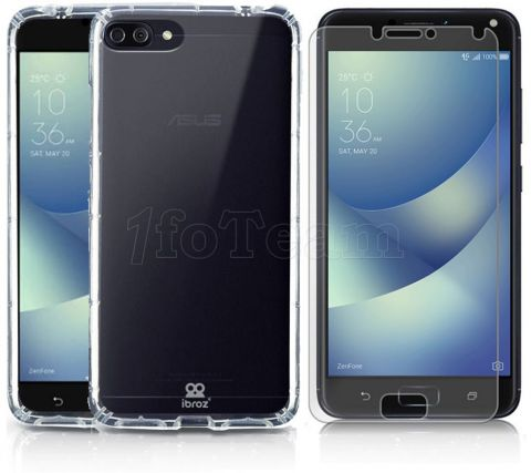 Photo de Coque Gel pour ASUS Zenfone 4 + Ecran de protection verre