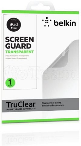 Photo de Film de protection d'écran Belkin Screen Guard pour le nouvel iPad (Transparent)