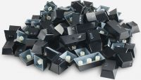 Photo de Jeu de 104 touches pour clavier mécanique Glorious PC Gaming Race (Noir) AZERTY