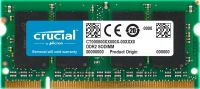 Photo de Kit de 2 Barrettes mémoire RAM SODIMM DDR2 4Go (2x2Go) Crucial 667MHz