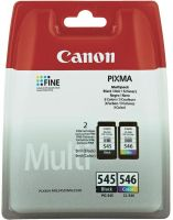 Photo de Pack 2 cartouches d'encre CANON PG-545/CL-546