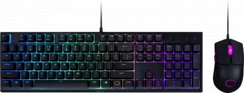 Photo de Pack Clavier - Souris Gamer Cooler Master MS110 RGB (Noir)