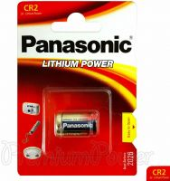 Photo de Pile lithium Panasonic (type CR2A) 3V