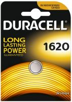 Photo de Pile plate Duracell (CR1620) 3V Lithium