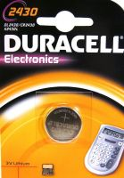 Photo de Pile plate Duracell (CR2430) 3V Lithium
