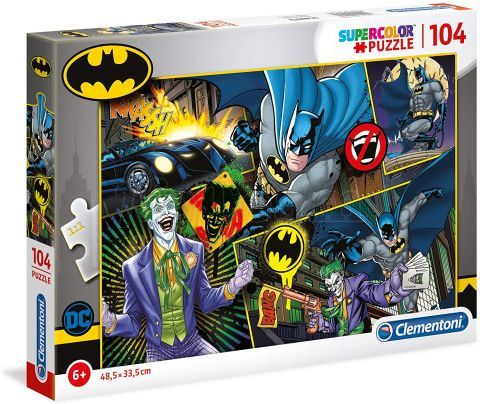 Photo de Puzzle Clementoni - Batman (104 pièces)