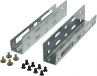 "Photo de Rails de fixation LogiLink 2xHDD 2""1/2 dans 1 emplacement 3""1/2"