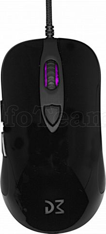 Photo de Souris filaire Gamer Dream Machines DM1 FPS Onyx Black (Noir Brillant)
