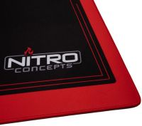 Photo de Tapis de souris Nitro Concepts DM16 Deskmat - XXXL (Noir/Rouge)