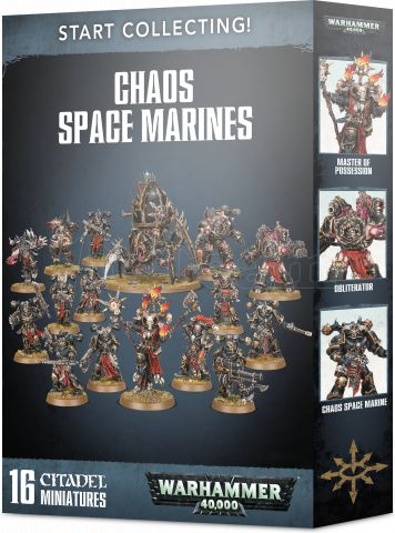 Photo de Warhammer 40k - Start Collecting! Chaos Space Marines 2019