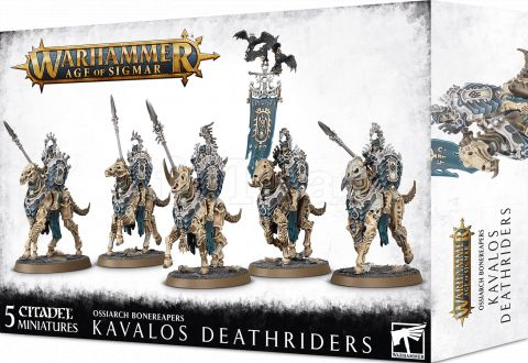 Photo de Warhammer AoS - Ossiarch Bonereapers Kavalos Deathriders