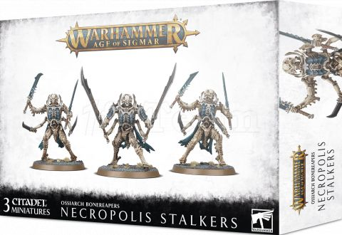 Photo de Warhammer AoS - Ossiarch Bonereapers Necropolis Stalkers